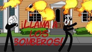 Historias con memes breves 25/CREA TU MEME 16/¡Llama a los Bomberos!