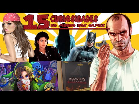 15 Curiosidades do Mundo dos Games que não vão mudar sua vida em 2 minutos!! #51