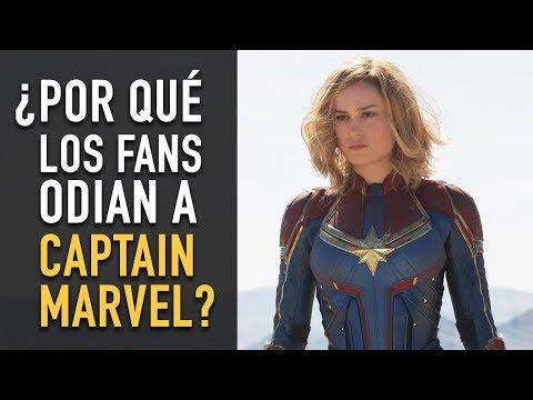 ¿Por qué los fans odian a Captain Marvel?