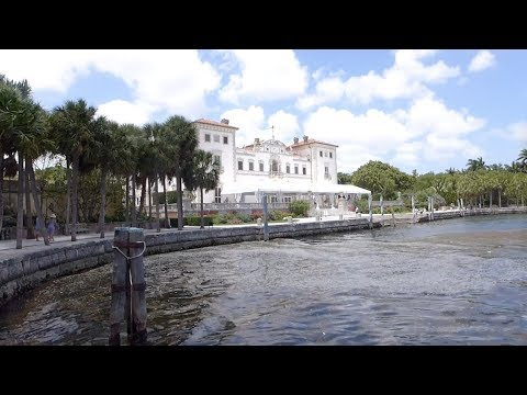 Miami, Florida - Vizcaya Museum and Gardens - Full Tour HD (2017)