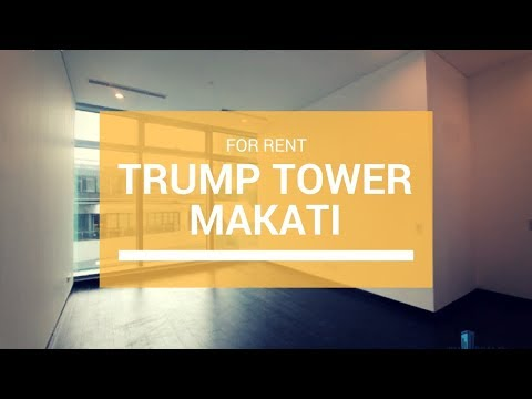 Trump Tower Manila - Makati Condo For Lease - 97K/Month