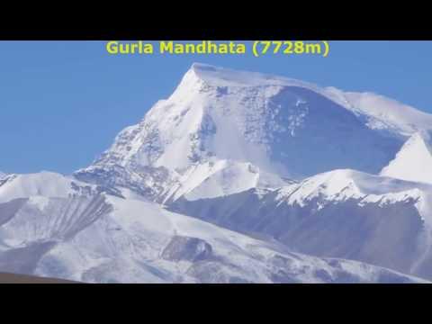 Lake Manasarovar Kora With Views Of Mount Kailash