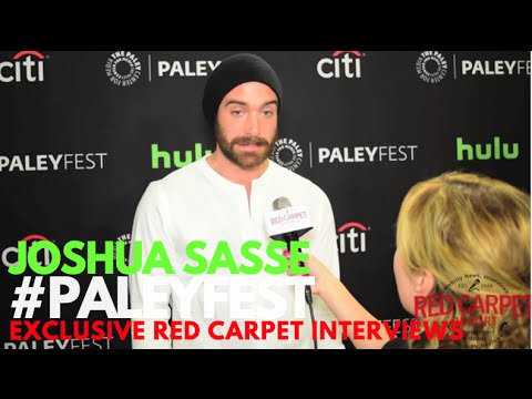 Joshua Sasse ed at PaleyFest Fall P 2016 for CW's No Tomorrow PaleyFest