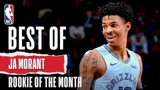Ja Morant's December Highlights | KIA Rookie of the Month