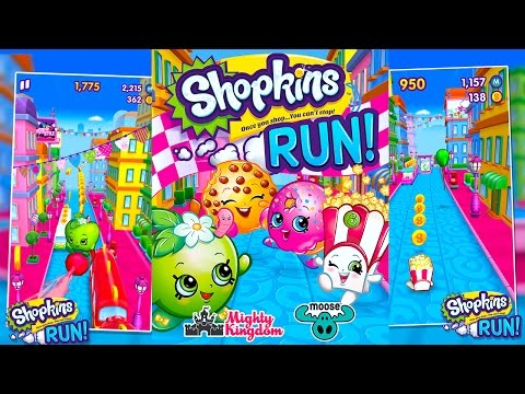 Shopkins Run New ShopkinsWorld Game App