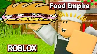 FOOD EMPIRE ROBLOX GAMEPLAY