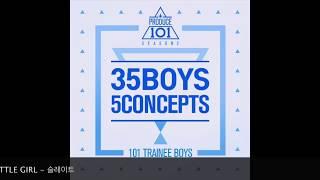 full album 프로듀스101 시즌2 produce 101 season2 콘셉트 평가   35 boys 5 concepts
