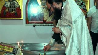 Крещение ребенка красивое видео(Крещение Софии Краснодар 06. 06. 2014 студия
