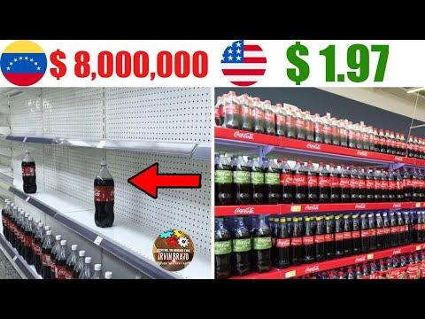 Precio de la coca cola en venezuela 2018