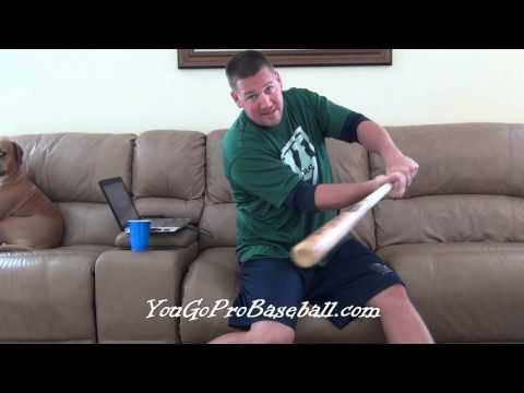 Baseball Hitting - How to stop hitting ground balls and start hitting line drives