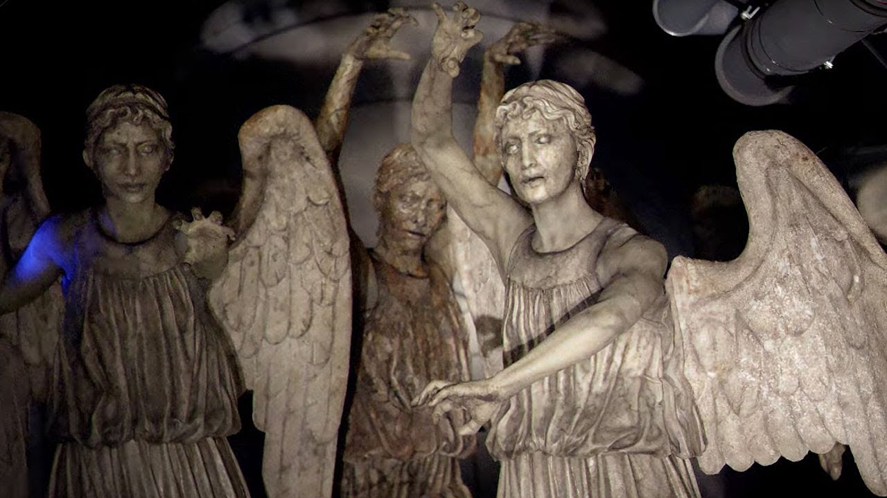 Download The Weeping Angels Attack! | Flesh and Stone | Doctor Who