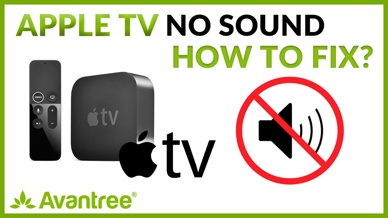 Apple Tv No Sound How To Fix Youtube