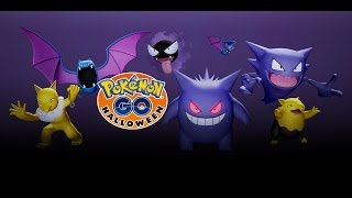 Pokémon GO - Halloween Is Approaching... by : Pokémon GO