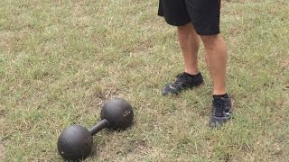 Scott York Fitness - 85lb Globe Dumbbell Clean & Press - Mike Graham
