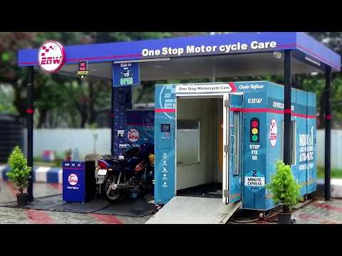 Automated Motorcycle Wash - EBW One stop Motorcycle Care (Apache RTR Wash)