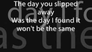Avril Lavigne - Slipped Away karaoke/instrumental with lyrics