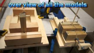 How To Wooden Vise-shop Built Proto Type