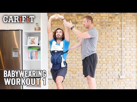 CARiFiT Babywearing Workout 1 | Postnatal Workout