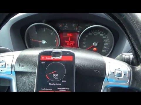 Ford S-max Interfejs ELM 327
