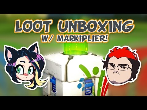 ►Overwatch►RIO LOOT UNBOXING►With Markiplier!  - Kitty Kat Gaming