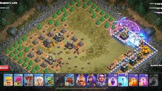 Clash of Clans Goblin Level: Dragon's Lair 3 star + slay the dragon TH11 example