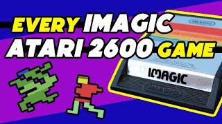 Atari 2600 Games by Imagic (and Absolute) | Trying all 17