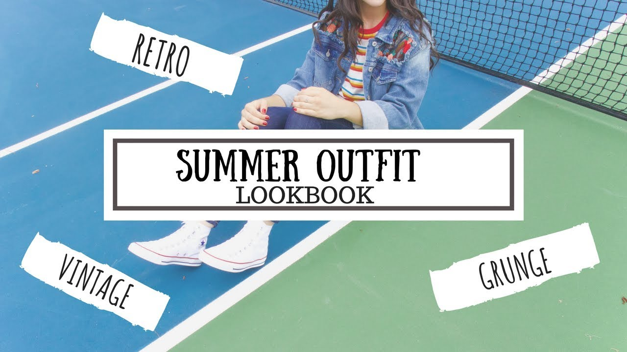 SUMMER LOOKBOOK 2018 (OOTD, OUTFIT IDEAS/INSPIRATION/GRUNGE, RETRO, ALTERNATIVE, VINTAGE STYLE) 2