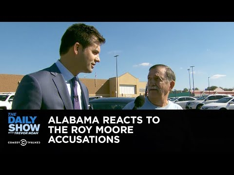 Download Youtube: Exclusive - Alabama Reacts to the Roy Moore Accusations: The Daily Show