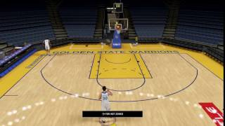 Steph curry misses open 3pt. Perfect release!!