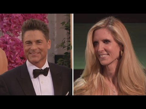 Ann Coulter Gets Torn to Shreds At Rob Lowe's Roast