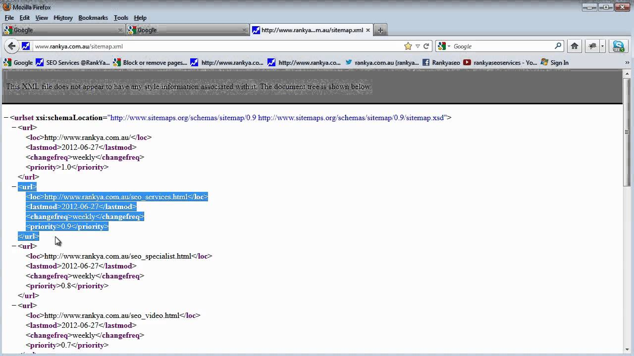 how to create robots txt file sitemap xml file for seo youtube