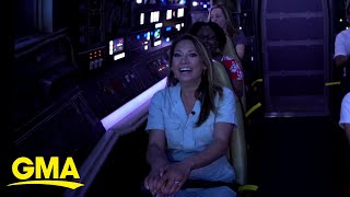 Ginger Zee takes on Disneyland's Star Wars: Galaxy's Edge