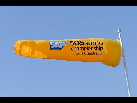 Day 2 Live Replay  - SAP 5O5 World Championship 2015 - Port Elizabeth, South Africa