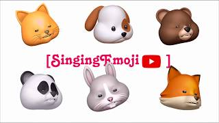 Animoji Karaoke] Emoji Singing 'EVERYDAY' -- WINNER | With