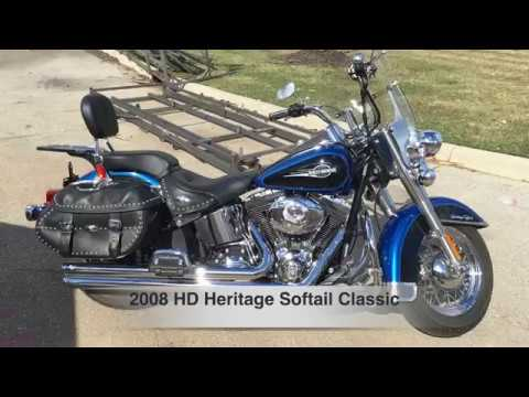 2008 HD Heritage Softail Classic- CLEAN BIKE- 15,000 MILES! CHECK IT OUT!!