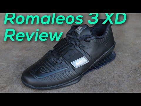 basura marxista No es suficiente  Nike Romaleos 3 XD Review - YouTube