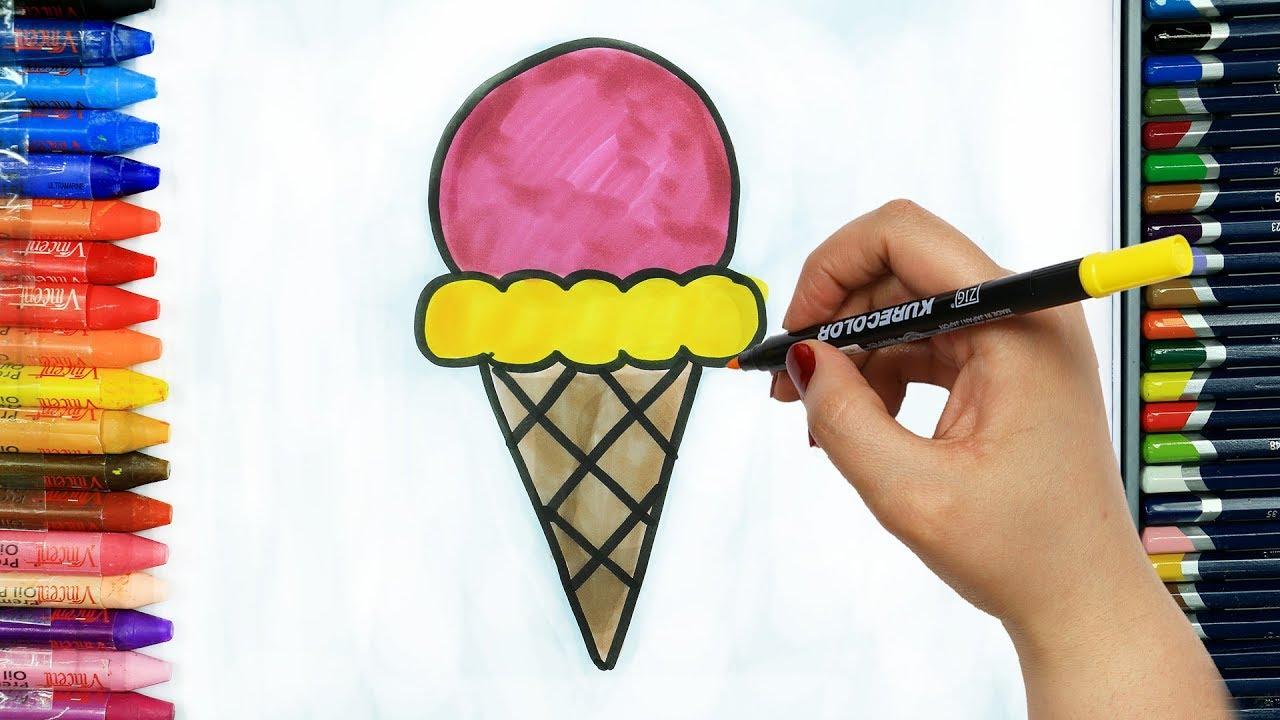 Dondurma Boyama Sayfaları 15 Süper Boyama Sayfaları