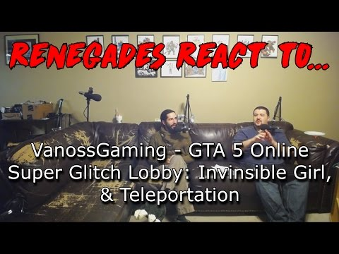 Renegades React to... VanossGaming - GTA 5...