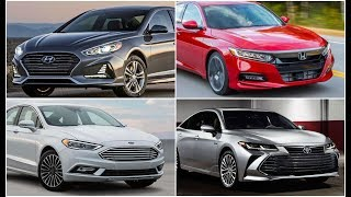 TOP 4 Best Sedan Cars of 2018