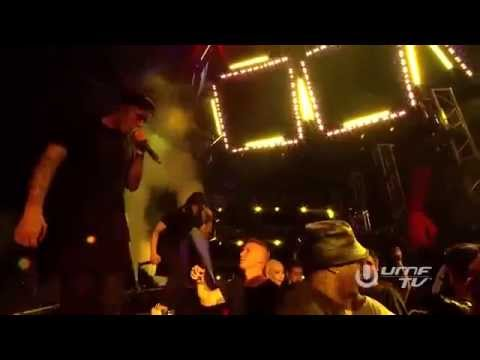 Skrillex and Diplo - Where Are Ü Now (feat.Justin Bieber) LIVE @ ULTRA MUSIC FESTIVAL 2015