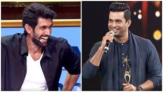 Rana Daggubati & Madhavan Cracking Jokes On Each Other At South Awards