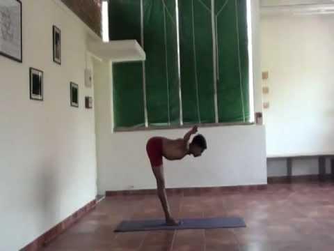 Srivatsa Ramaswami--Vinyasakrama Yoga Video 6--Tadasana/Utkatasana/Khagasana