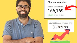 How I Got 100K Subscŗibers on YouTube in 100 Days! (2021)