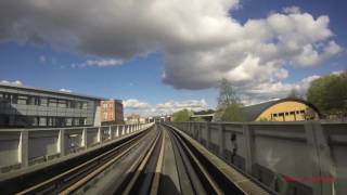 Riding the Metro in Lille, France - 2016 (Driver and Passenger view)