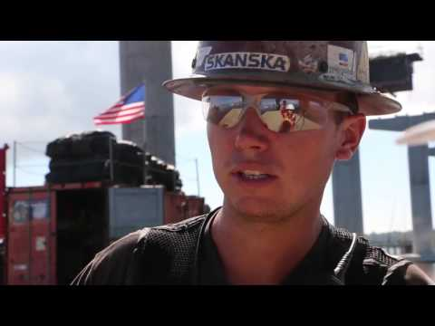 Construction of U.S. 331 Bridge Columns: How It's Made
