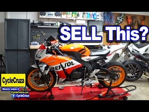 Sell My CBR1000rr Repsol and Get New One?