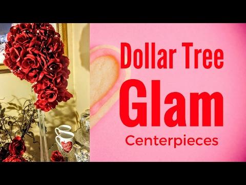 DIY Dollar Tree Tall Centerpieces| DT DIY Wedding💖| Quinceanera Centerpiece
