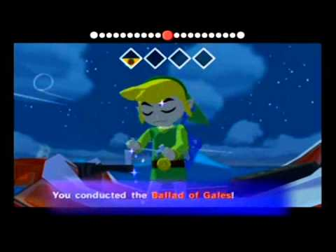 Wind Waker - Triforce Shard 2, Ghost Ship Chart, Triforce Chart 4 (Part 55)