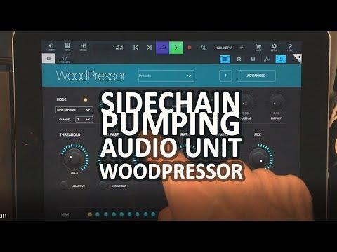 Woodman Woodpressor Audio Unit Sidechain Tutorial