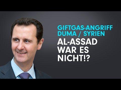 Giftgas in Duma / Syrien: Al-Assad war es nicht!? –Abenteuer in Dummland #6